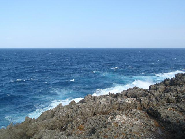 ゴツゴツしている沖縄最北端