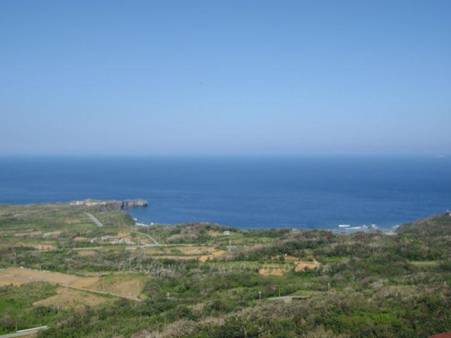 大石林山の美ら海展望台