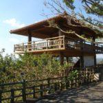 名護城公園の展望台